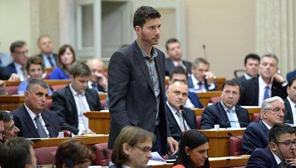Хорватский депутат Иван Пернар