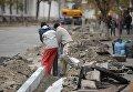 Ремонт дорог в Киеве. Архивное фото