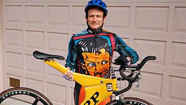 Коллекция велосипедов Робина Уильямса ушла смолотка за $600 тыс.