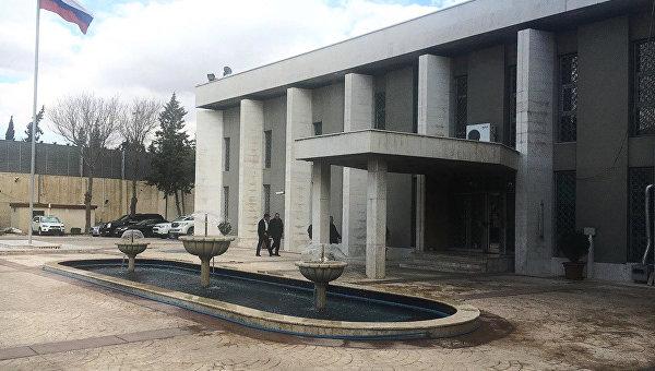 МИДРФ: Посольство Российской Федерации вДамаске два раза обстреляли