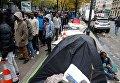 Мигранты оккупировали улицы Парижа