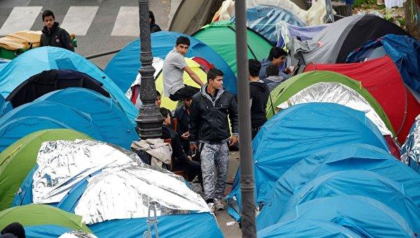 В ЕС в 2016 году прибыли 350 тыс нелегальных мигрантов