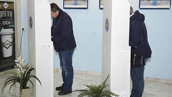ЦИК Молдавии озвучил заключительные результаты первого тура выборов президента