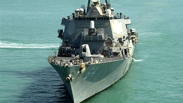 Американский эсминец Carney покинул Черное море