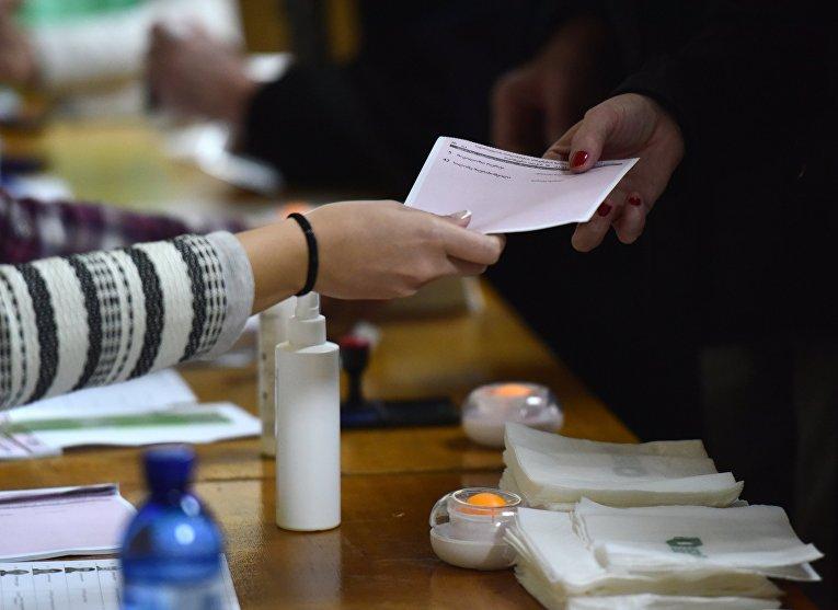 Второй тур парламентских выборов в Грузии