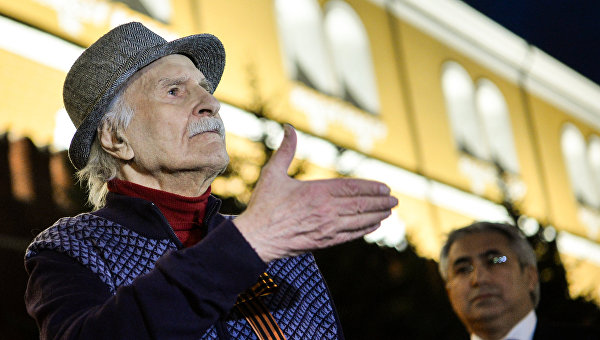 Народный артист СССР Владимир Зельдин