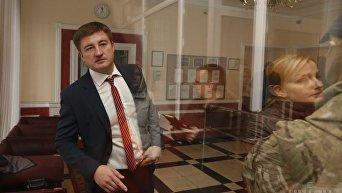 Вадим Мосийчук в ходе обысков в Госрезерве
