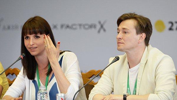 Режиссер Анна Матисон и актер Сергей Безруков. Архивное фото