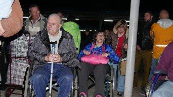 Возвращение переселенцев из Одессы в Донецкую область