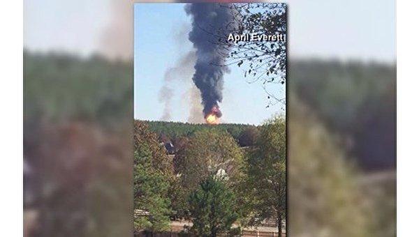 Взрыв на бензопроводе компании Colonial Pipeline