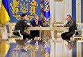 Степан Полторак, Петр Порошенко, Виктор Муженко