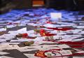 Попытка срыва концерта Лободы и коридор позора в Чернигове. Видео