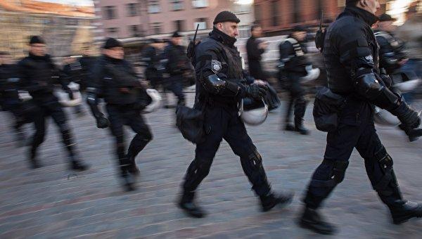 Полиция Латвии. Архивное фото