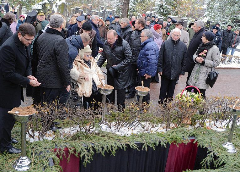 Прощание с актером Владимиром Зельдиным