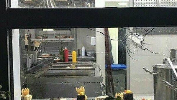 Вкиевском ресторане неизвестный открыл огонь по гостям