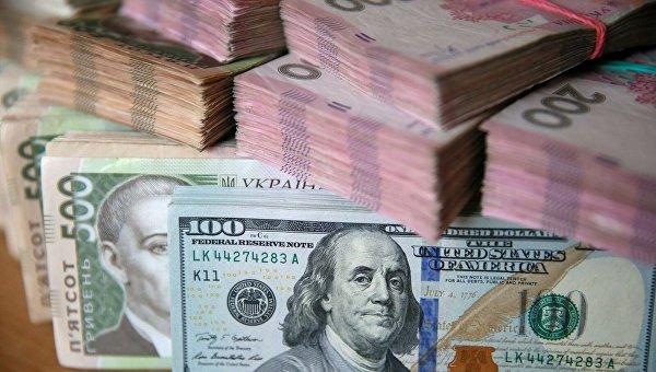 Доллары и гривны