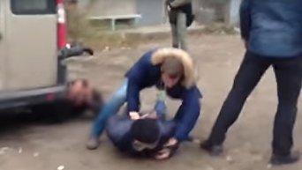 Спецоперация полиции по освобождению похищенной бандитами одесситки. Видео