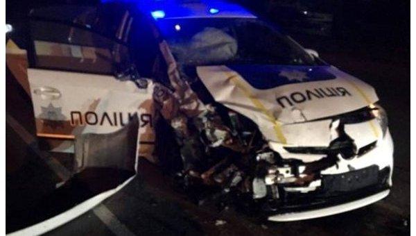 ВХмельницком милиция итакси устроили смертельное ДТП