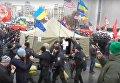 Савченко засветилась на Майдане во время разгона митинга предпринимателей