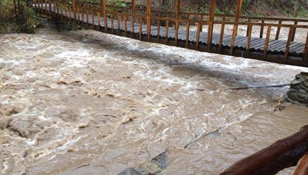 Из-за сильных дождей наЗакарпатье подтоплены 30 домохозяйств, область готовится кпаводку