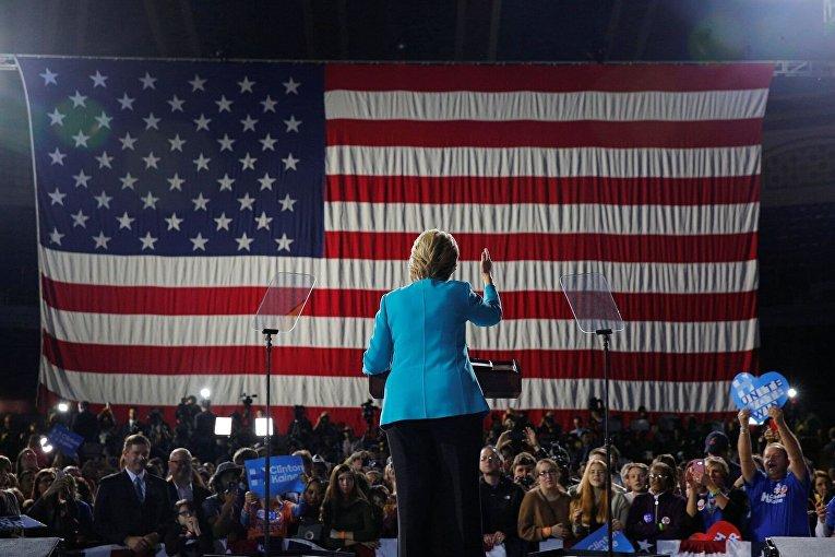 Хиллари Клинтон в Кливленде