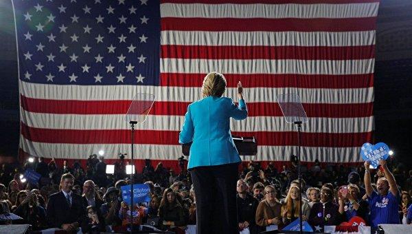 Хиллари Клинтон отменила намеченный надень выборов торжественный салют