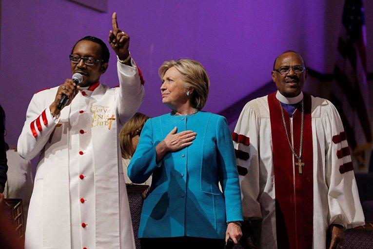 Хиллари Клинтон в Филадельфии