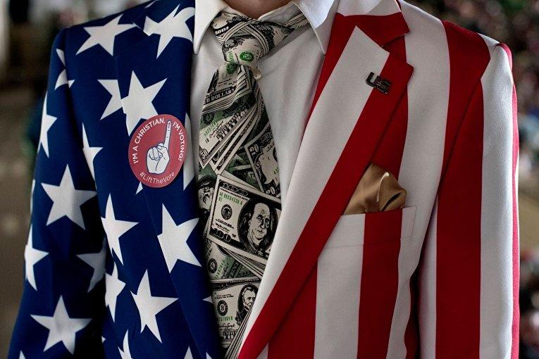 Сторонник Дональда Трампа в Денвере