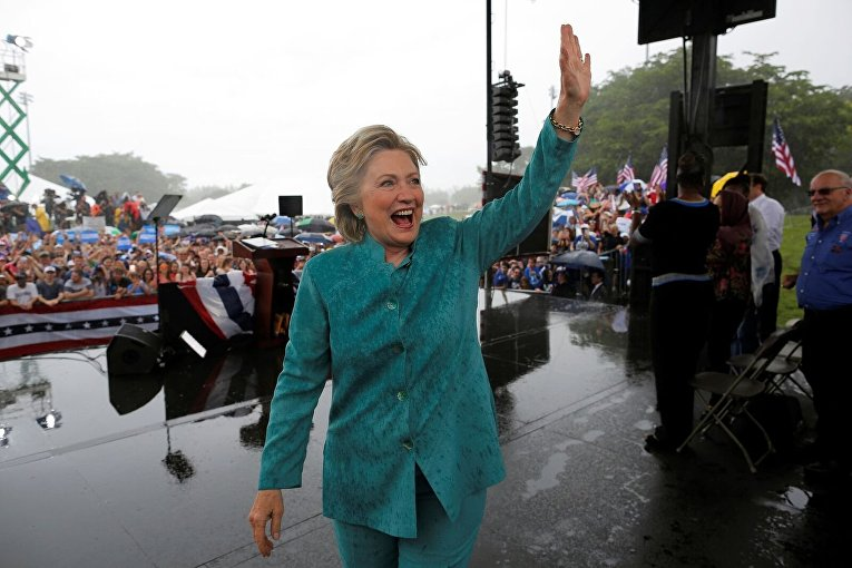 Хиллари Клинтон в Пемброк-Пайнс