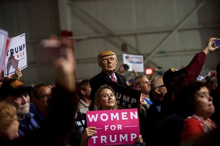 Сторонники Дональда Трампа в Пенсильвании