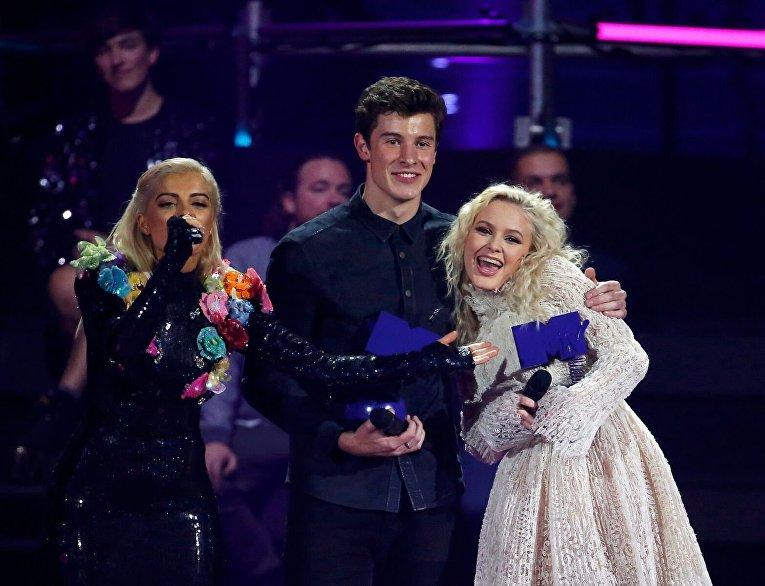 Вручение MTV Europe Music Awards: лучший певец Шон Мендес и Зара Ларссон, лучший новый исполнитель
