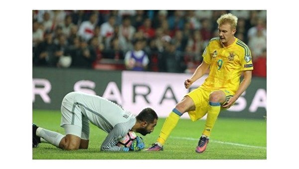 Шевченко объявил состав наФинляндию