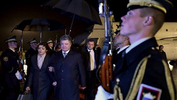 Президент Украины совершит официальный визит вСловению