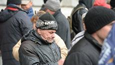 Мужчина в Киеве. Архивное фото
