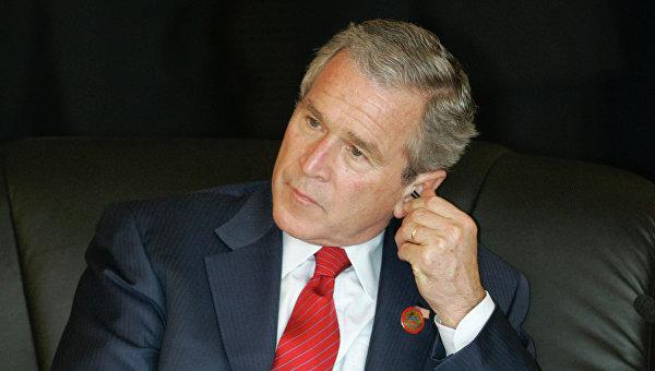 Джордж Буш-младший. Архивное фото