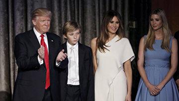 Трамп, инаугурация: первая леди США и любимая дочь