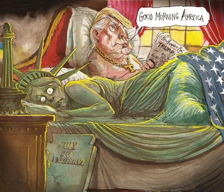 Трамп приблизился кпобеде навыборах президента США