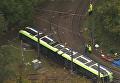 В Лондоне перевернулся трамвай, пять человек погибли: кадры с места ЧП. Видео