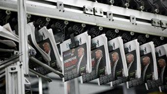 Дональд Трамп на обложках газет