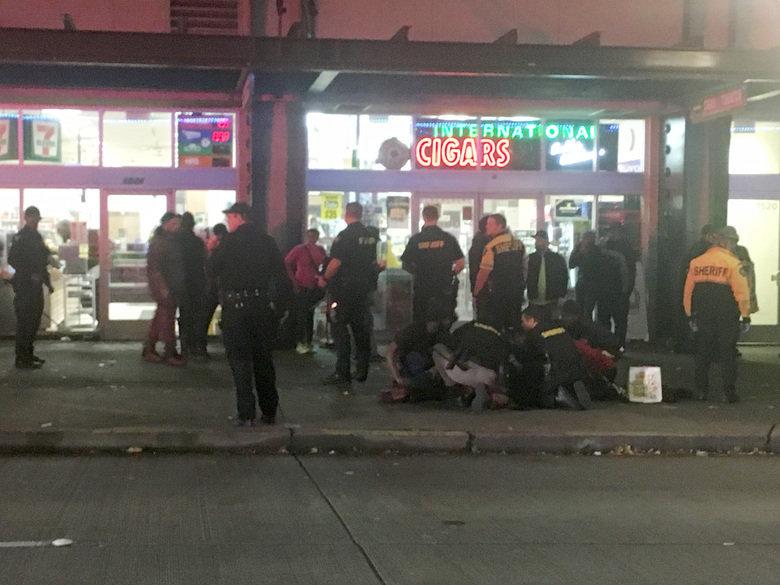 Несколько человек ранены впроцессе протестов вСиэтле