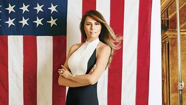 Меланья Трамп. Архивное фото