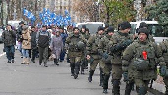 Акция протеста против Валерии Гонтаревой