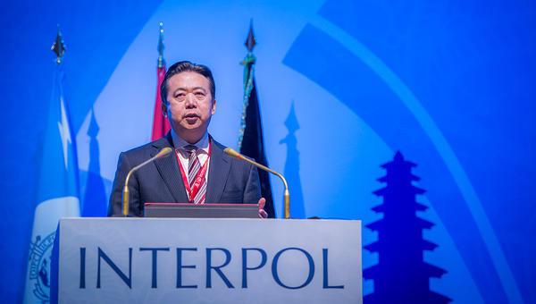 Глава Интерпола Мэн Хунвэй. Архивное фото