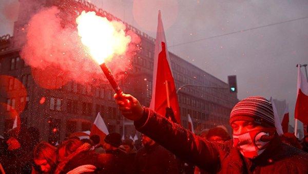 Марш в Польше. Архивное фото