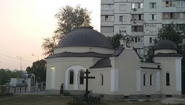 Церковный киоск вКиеве ограбили на100 тыс грн