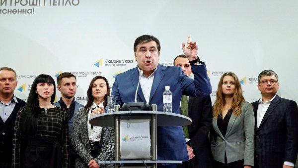 Михаил Саакашвили объявил о создании новой политсилы
