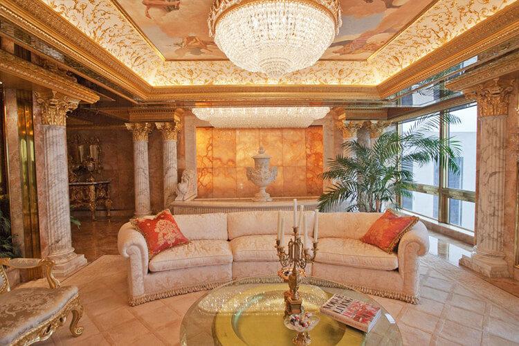 Апартаменты Дональда Трампа в Нью-Йорке
