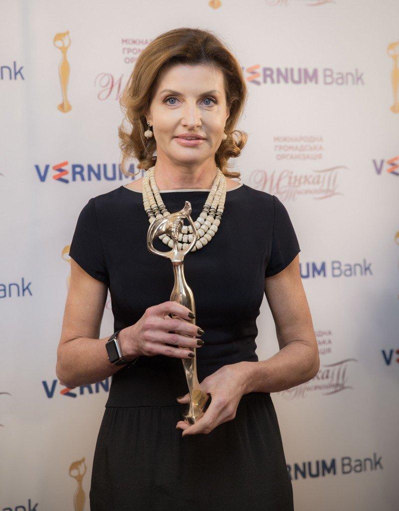 Марину Порошенко наградили премией «Женщина III тысячелетия»