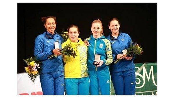 Украинская женская команда по фехтованию завоевала золото на этапе Кубка мира в Китае