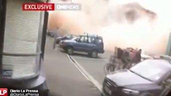 Землетрясение в Новой Зеландии. Видео